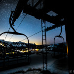 Chairlift Night